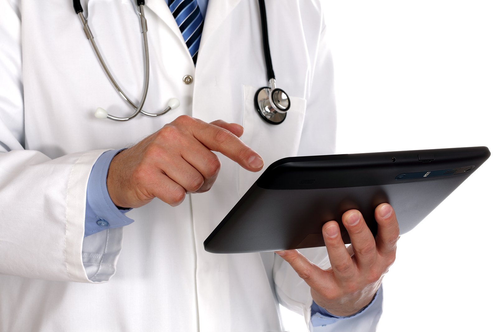 doctor-using-a-digital-tablet